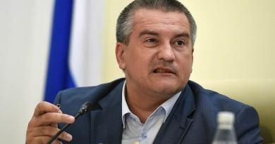 Глава Крыма готов встать в одиночный пикет против