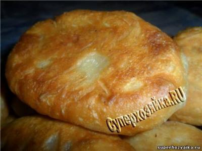 рецепты пирожков жареных на сковороде