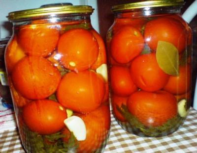 рецепт консервирования помидор