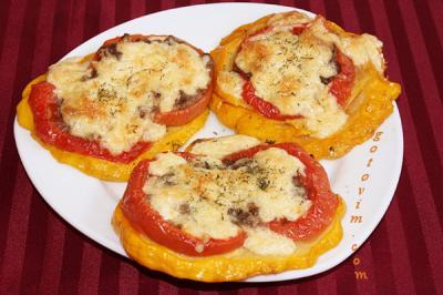 блюда из патиссон рецепты быстро и вкусно с фото