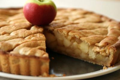 шарлотка с яблоками рецепт