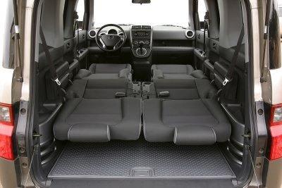 как поднять заднее сиденье хонда элемент