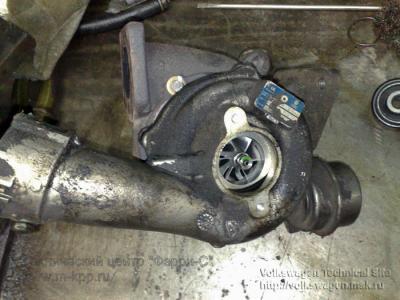 двигатель т4 1.9 турбодизель показать как выглядит турбина