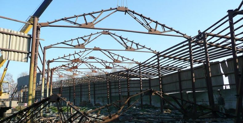 Основы строительства: демонтаж металлоконструкций