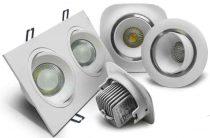 Светодиодные светильники, как элемент интерьера