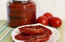 Безумно вкусные вяленые помидоры… Ингредиенты: томаты мелкие мясистые