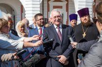 Игорь Ашурбейли рассказал журналистам, что связывает его с селом Хирино