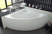 Угловая ванна – преимущества дизайна