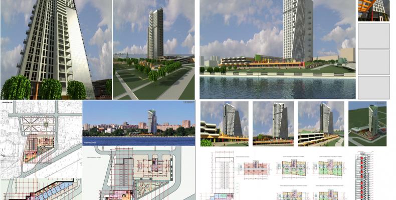 Структура архитектурного проекта жилого здания