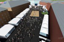 В Санкт-Петербурге фан-зону хотят разместить на Конюшенной площади.