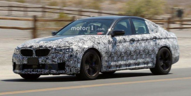 Самый мощный BMW в истории – M5 2018
