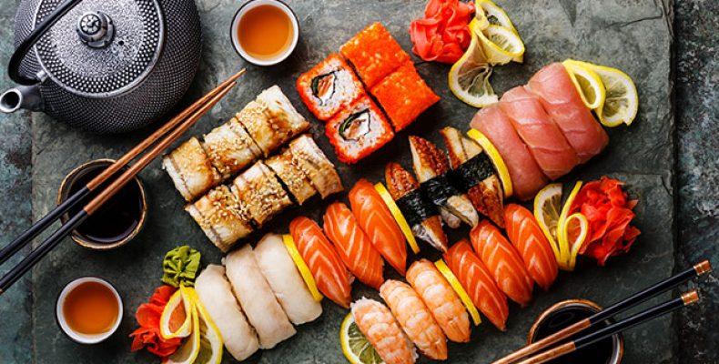 Доставка японской еды в Москве