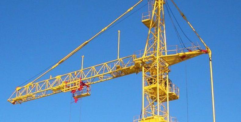 Пользующийся спросом строительный кран