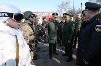 Министр обороны России проверил подготовку разведчиков морской пехоты