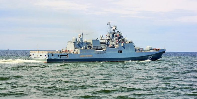 Россия готова продать Индии два фрегата проекта 11356