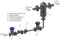 Дренажный сепаратор пара. Конструкция и работа