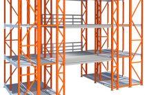 Складские металлические стеллажи для магазина, склада, автосервиса, офиса