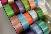 Цветная сатиновая лента (атласная). Область использования