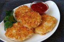 Котлеты из крабовых палочек с сыром Ингредиенты: ●