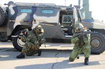 Разведчики российской военной базы в Армении учатся обнаруживать