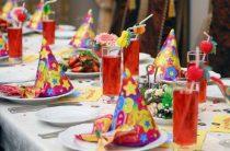 Украшение стола для праздника