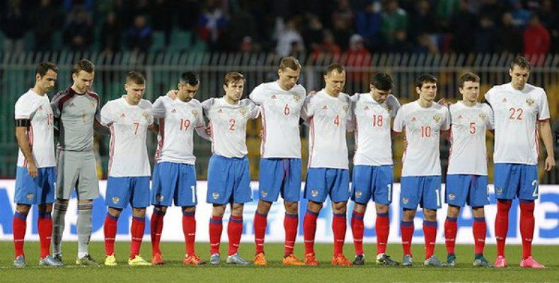 Товарищеский матч между сборными России и Литвы, который