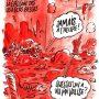 Charlie Hebdo опубликовал еще одну карикатуру на теракты