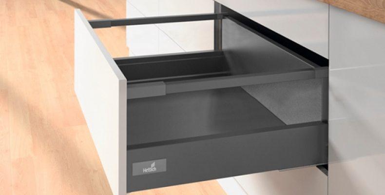 Планировки кухонного гарнитура. Выдвижные системы для кухни