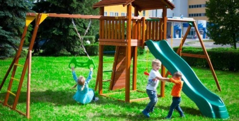 Детские игровые комплексы и площадки