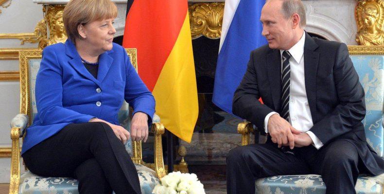 Кремль сообщил о переговорах президента РФ и Меркель