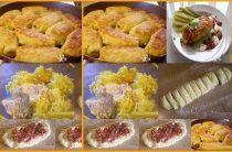 Картофельные рулетики Ингредиенты: -Картофель – 500-600г -Яйцо сырое