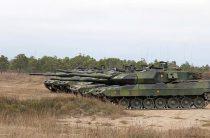 Швеция модернизирует танки Leopard 2S и БМП CV90
