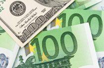 Рубль в среду показал снижение к доллару и евро на 1-2%