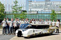 Студенты из Нидерландов собрали авто из льна