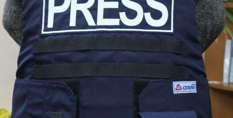 В РФ разработан новый бронежилет для представителей прессы