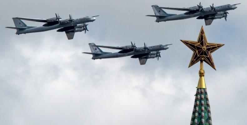 """Три """"Медведя"""" переполошили Японию и эсминец ВМС США Барри"""