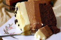 Торт «Три шоколада» Ингредиенты: Для бисквита (кухэ): ●