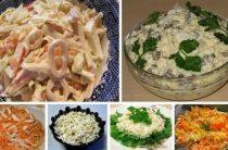 6 простых и вкусных салатов с кальмарами. Кальмары