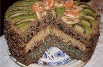 Королевский торт Ингредиенты: для теста ●3 яйца ●1,5