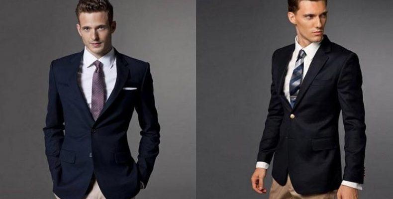 Мужской строгий стиль в пиджаке