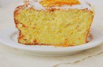 Апельсиновый кекс. Обращаю внимание стройнеющих: в кексе нет