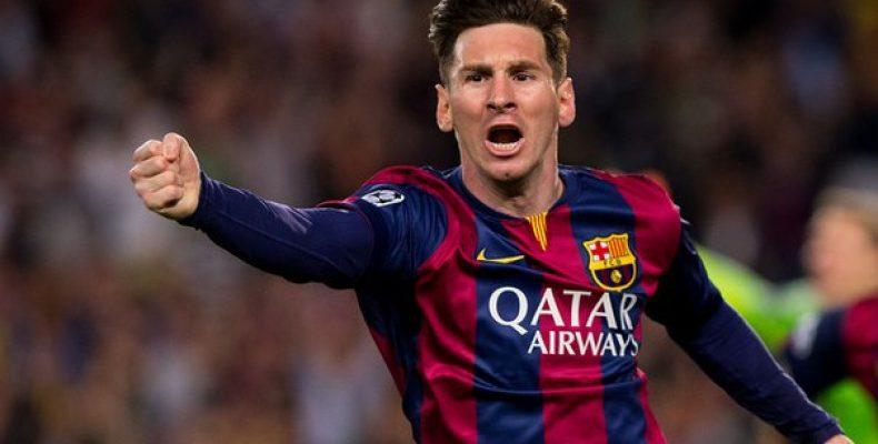 Нападающий «Барселоны» и сборной Аргентины Лионель Месси в
