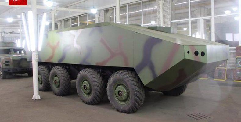 Еще один проект бронетранспортера на Украине Во время