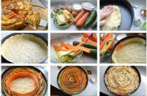 """Пирог """"Овощная идиллия"""" 150 г масла, 300 г"""