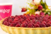 Тарт с заварным кремом и ягодами Ингредиенты: Тесто: