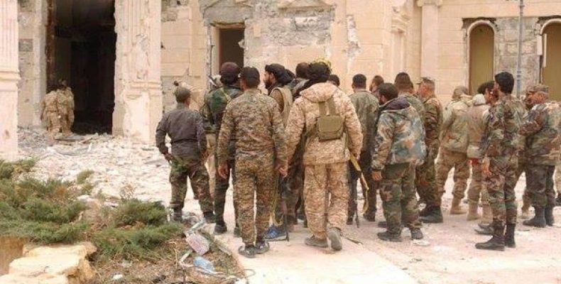 Вопреки сообщениям СМИ сирийская армия не вошла в