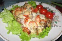 Куриная печень по-итальянски Ингредиенты: 500 гр. куриная печень