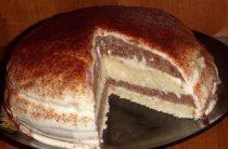 Кефирный торт Очень простой в приготовлении и в