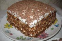 """Торт """"Мечта жизни"""" Ну, очень вкусный торт! Готовится"""