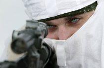 Снайперы российской военной базы в Абхазии учатся меткой